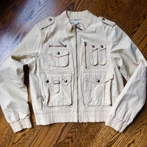 Tommy Hilfiger Lightweight Crop Jacket M, Like New
